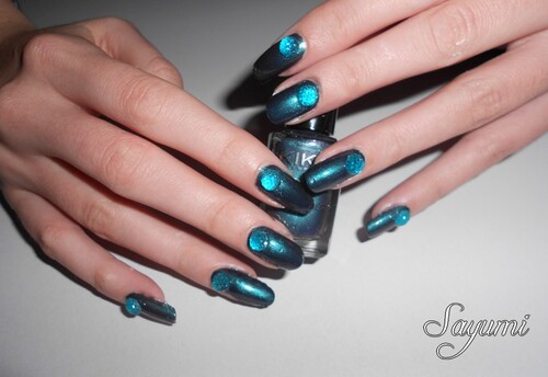 Nail Art Demi-Perles en volume