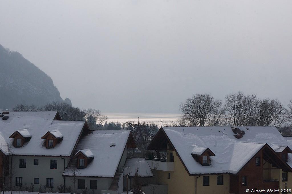 Neige fraîche  à Annecy  le Vieux - 3 (fin)
