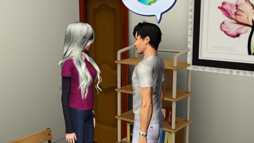 Chapitre 8: Première journée de travail pour Mickaël et grossesse pour Talia.