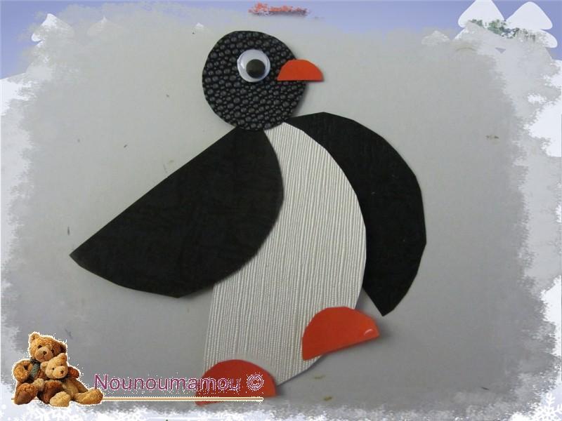 Pingouins Suite Décor Hiver