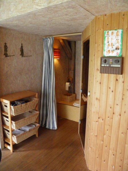Le sauna et les toilettes sèches