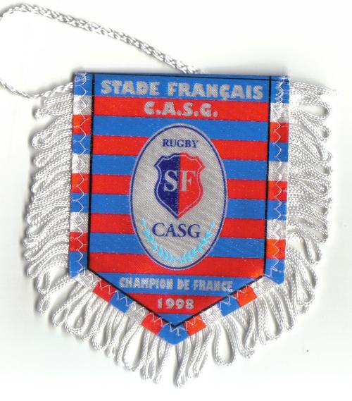 Fanion Stade Français1 Champion de France 1998 (6)