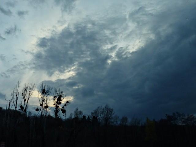 Ciel d'automne dans l'Est 18 mp1357 2010