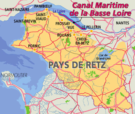 Canal de la Martinière - Frossay Le Migron - 44