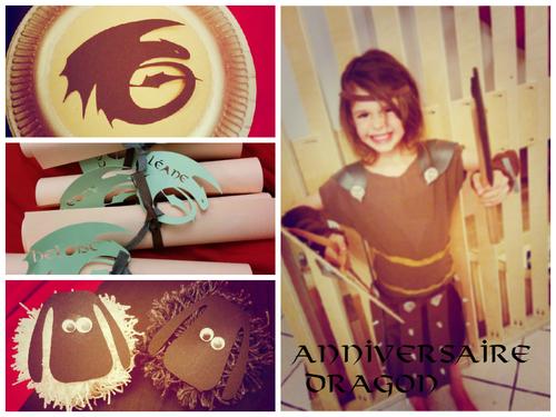 un anniversaire dragon