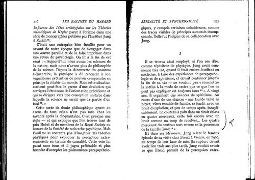 Arthur Kostler les racines du hasard  pages 116 à 125