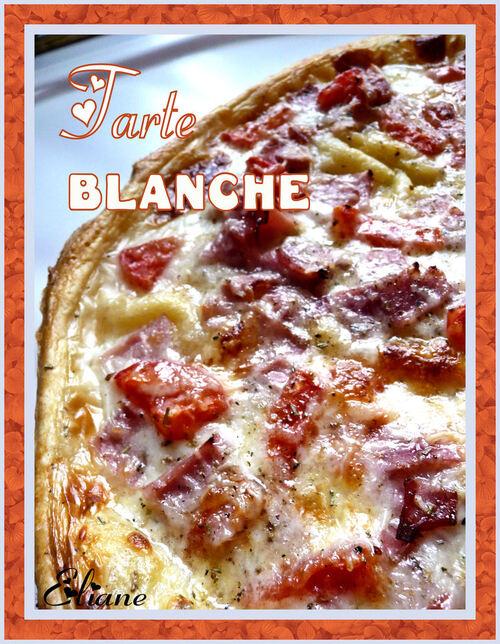 Tarte Blanche