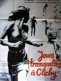 JOURS TRANQUILLES A CLICHY BOX OFFICE FRANCE 1971