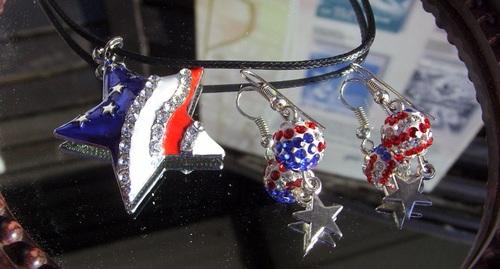 Exposition de mes bijoux country à la guinguette de Rochecorbon