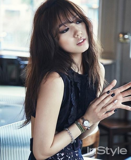 Park Shin Hye pour Instyle