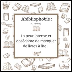 Abibliophobie