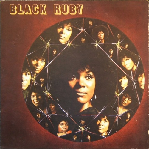 "Ruby Andrews : Album "" Black Ruby "" Zodiac Records ZS-LP 1002 [ US ]"