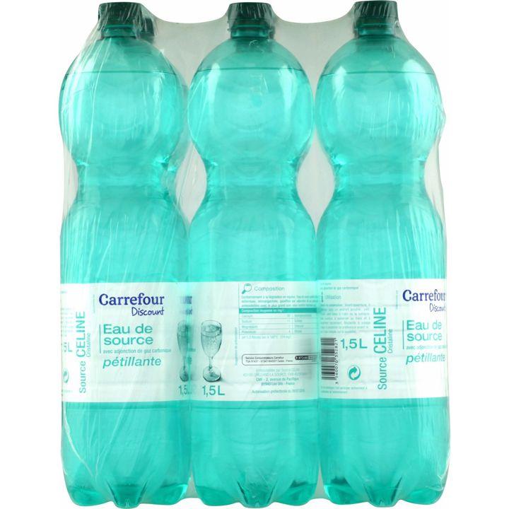 Polluants eau Carrefour Discount