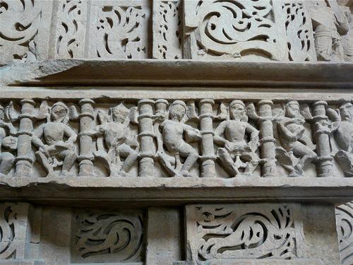 Sas temple ou temple de la Belle Mère à Gwalior