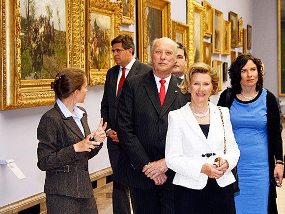 Harald et Sonja à Cracovie