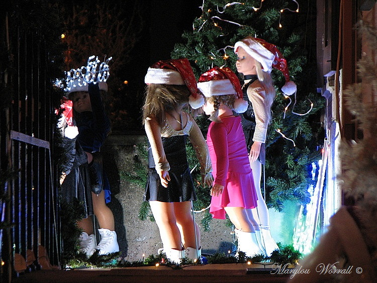 Au temps des marchés de Noël : Une maison dans ma rue