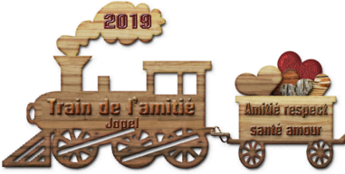 Le train de l'amitié 2019 offert par Jopel