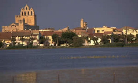 Les Saintes Maries de la Mer en Camargue - Crédit Photo SCOPE Jean-Daniel SUDRES