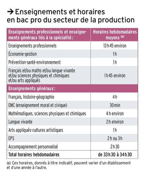 La Seconde Professionnelle (Seconde Pro)