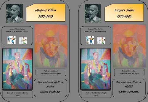 Fiche Jacques Villon - Histoire des Arts