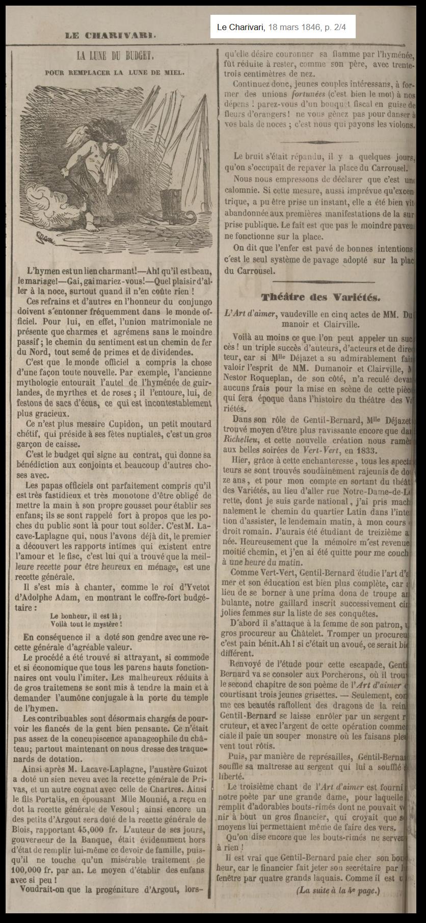 La nuit de noces aux 19ème siècle : histoire d'une domination de genre