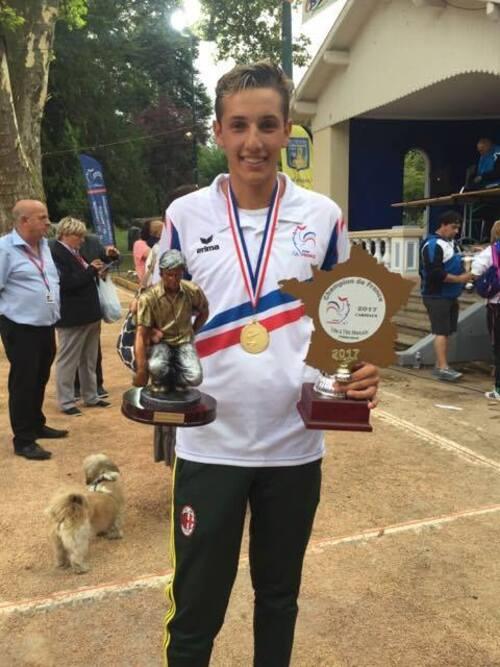 Championnats de France Doublette Féminin et le tête à tête Masculin.