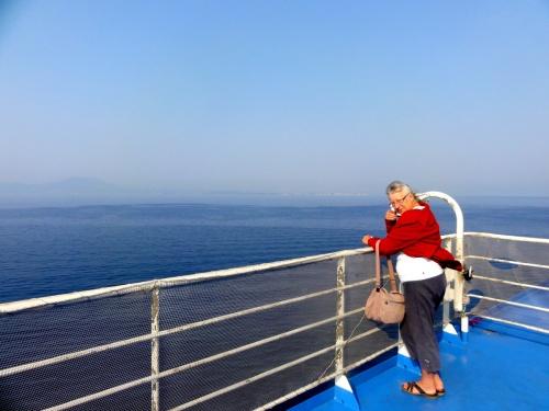 la route vers la Grèce du 5 au 8 septembre