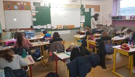Animation à l'école Notre Dame à Mouzeil / 03/12/20