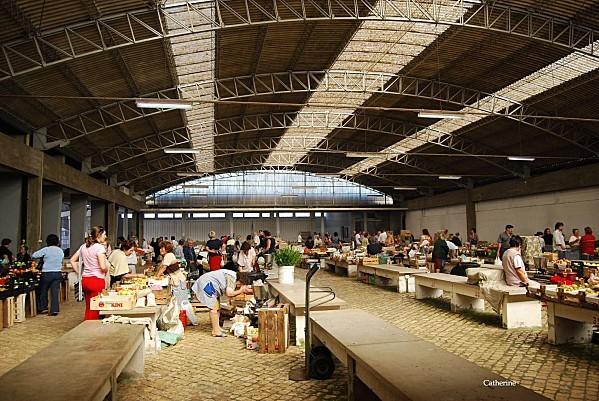 Alcobaça Portugal - Le marché 3