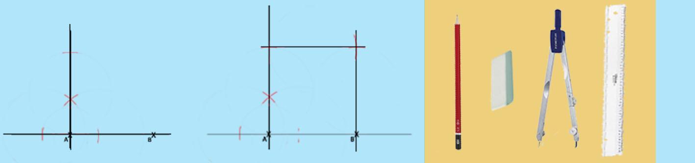 Tracer un carré parfait avec... un compas!