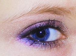 makeup tsarina indigo pourpre or