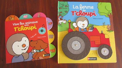 """""""T'choupi, l'ami des petits"""" duo des éditions Nathan"""