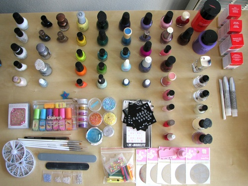 Collection vernis nail art