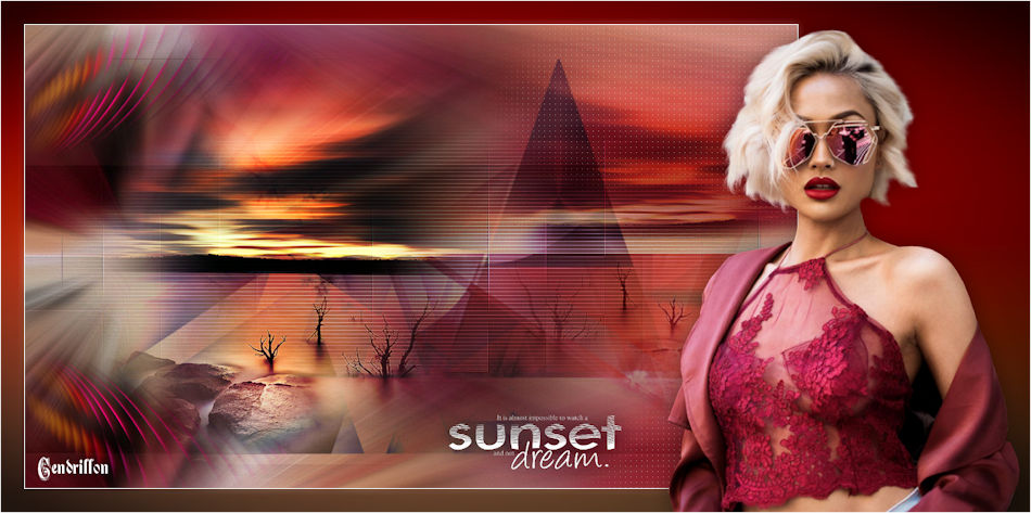 Sunset Dream - André - Traduction Maidiregrafica