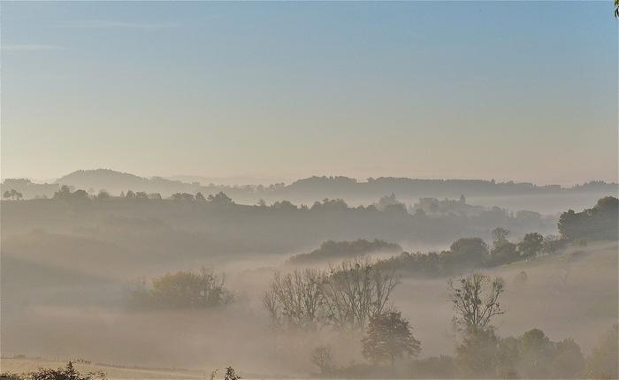 Petit matin d'automne :