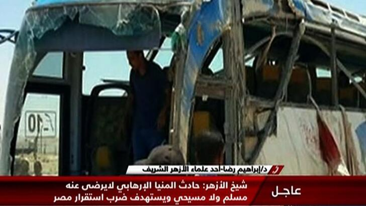 Vingt-six morts dans l'attaque d'un bus transportant des chrétiens en Egypte