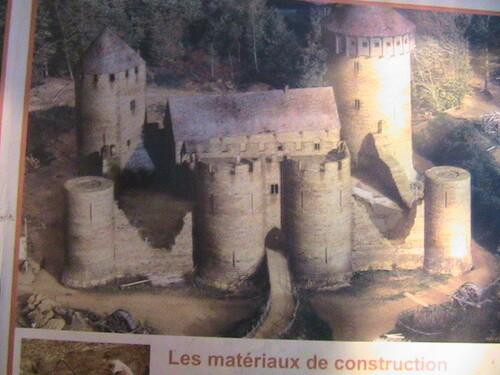 chateau de Guedelon (yonne)