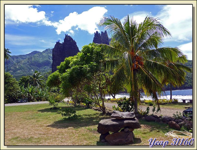 Baie de Hatiheu - Nuku Hiva - Iles Marquises - Polynésie française