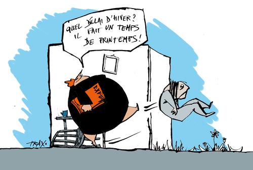 DAL droit au logement expulsions délai d'hiver dérèglement climatique printemps 31 mars