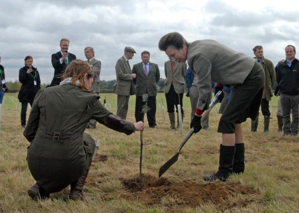 Anne Plante un arbre