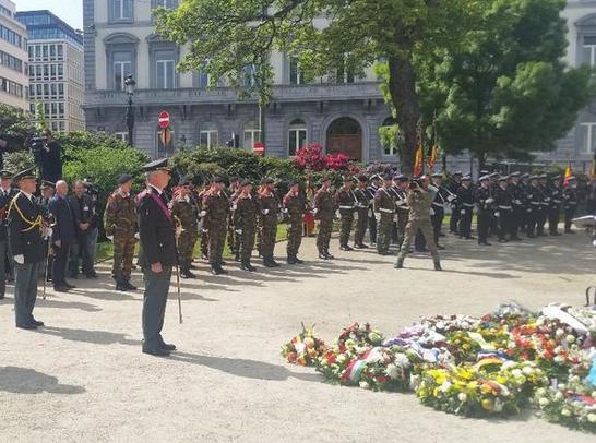 Commémoration du 70e anniversaire de la fin de la 2e Guerre mondiale