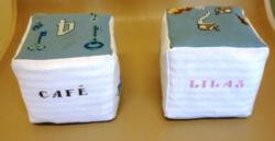 brigitte et sa suite de cubes voici les lettres C et L