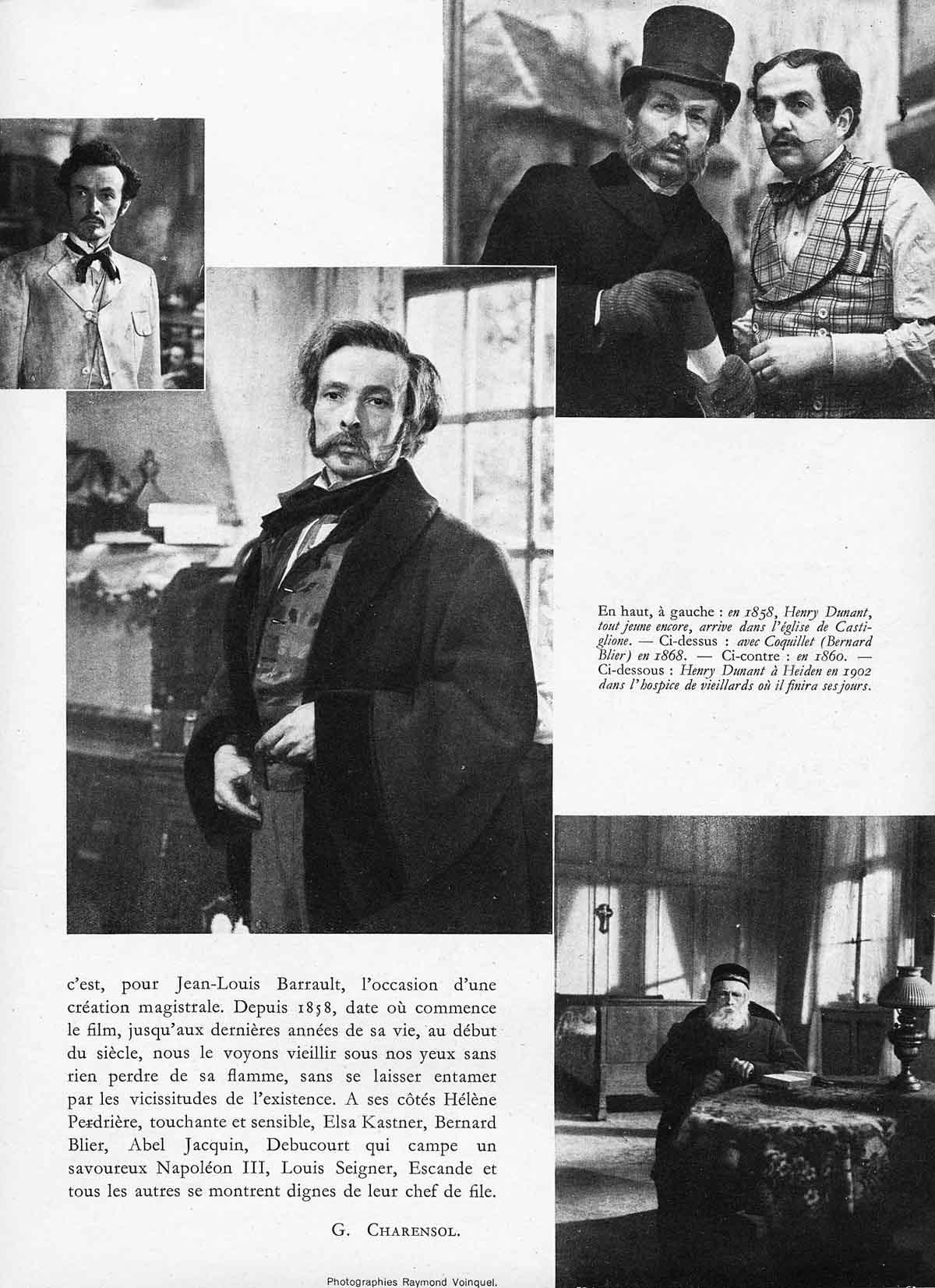 """photos extraites du film """"D'Hommes à Hommes"""" de Christian Jaque"""