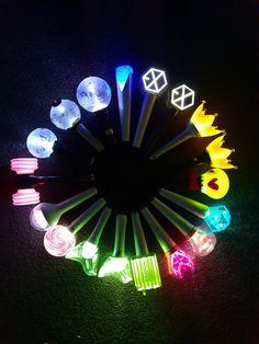 """Résultat de recherche d'images pour """"kpop light stick circle"""""""