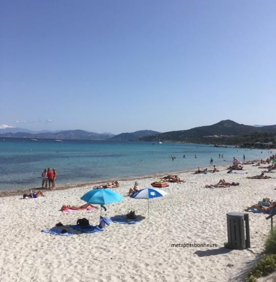 Vacances en Corse...