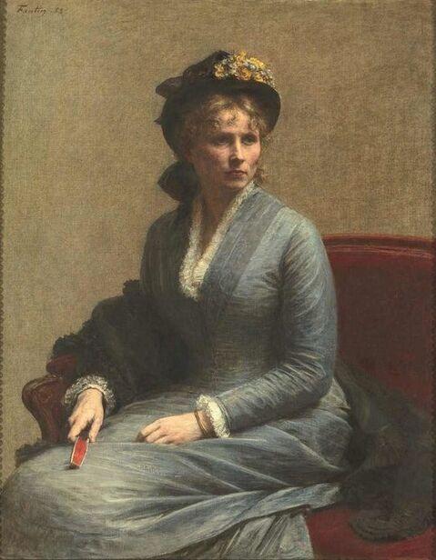 Entre poésie et réalisme, femme au chapeau Fantin Latour