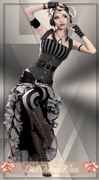 ST0016 - Femme steampunk