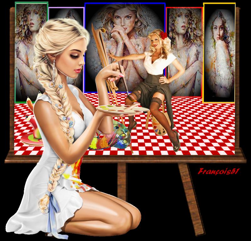 Galerie de peinture pour Beauty ,
