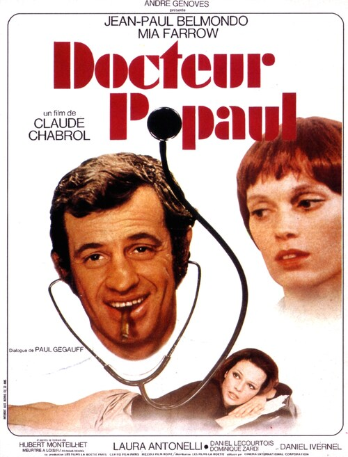 DOCTEUR POPAUL - BOX OFFICE JEAN-PAUL BELMONDO 1972