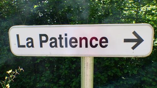 La Patience..